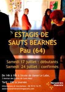 Estagi de Sauts bearnés taus confirmats @ Pau